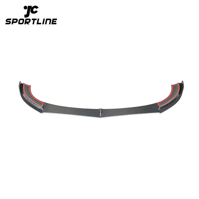 ML-YBX020 Carbon Fiber W213 Sport Car Front Spoiler for Mercedes Benz E300 E350 E450 E43 AMG 2017-2019
