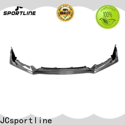 JCsportline bmw carbon fiber lip suppliers for car