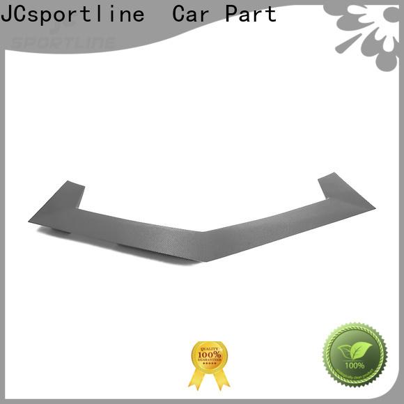 JCsportline scirocco carbon fiber car spoiler company for sale