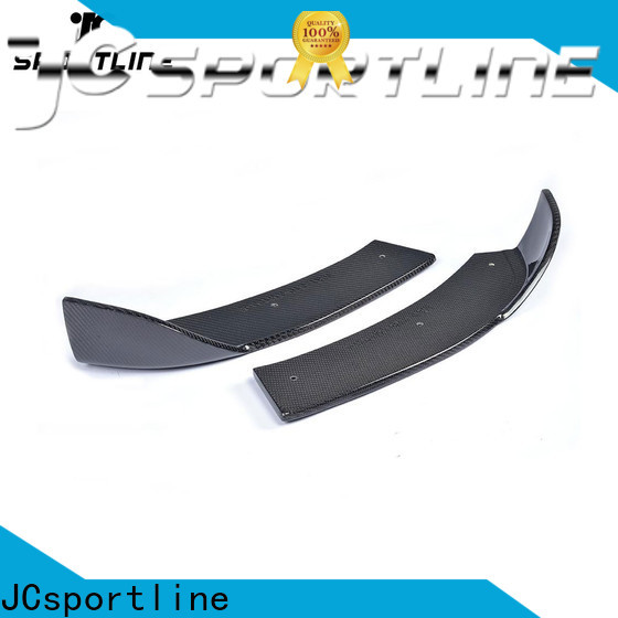 JCsportline custom carbon fiber splitter manufacturers for car