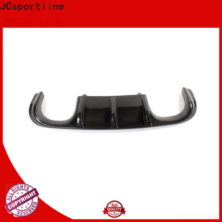 JCsportline diffuser car part with custom services for trunk