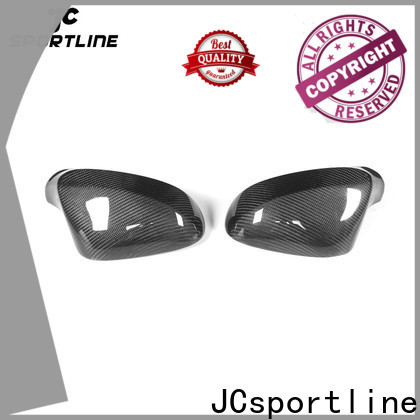 JCsportline rearview carbon door mirror cover factory for sale