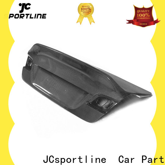 JCsportline racing carbon fiber trunk lid factory for car