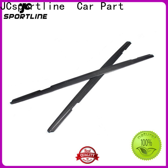 JCsportline camaro carbon side skirts factory for trunk