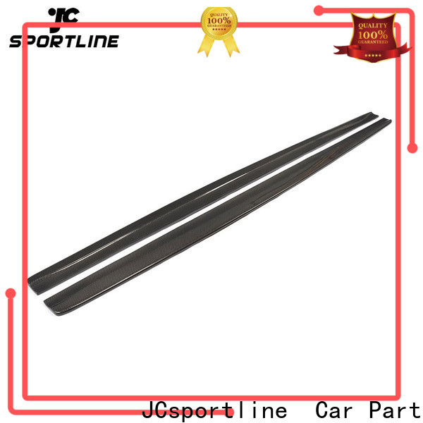 JCsportline best carbon side skirts factory for trunk