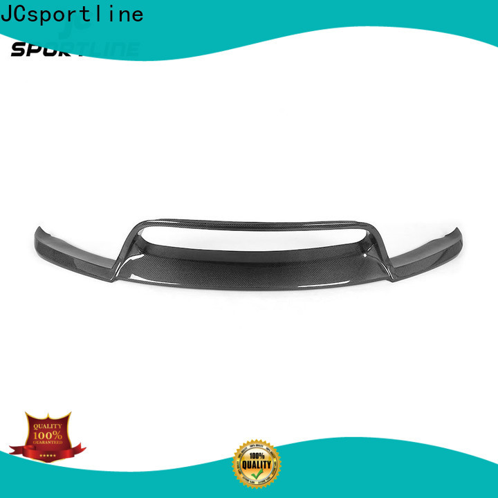 JCsportline top car lip kit with guard protection for trunk