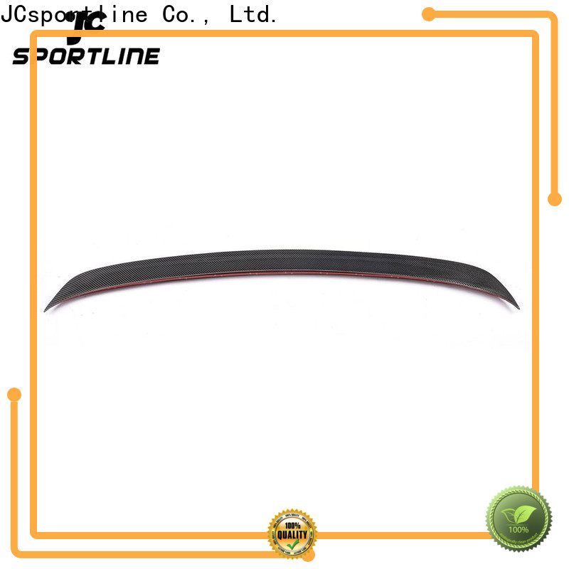 JCsportline custom made spoiler supply for vehicle