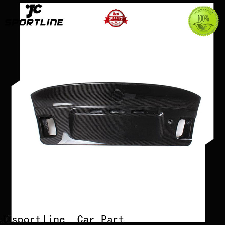 JCsportline standard carbon fiber trunk lid supply for carstyling