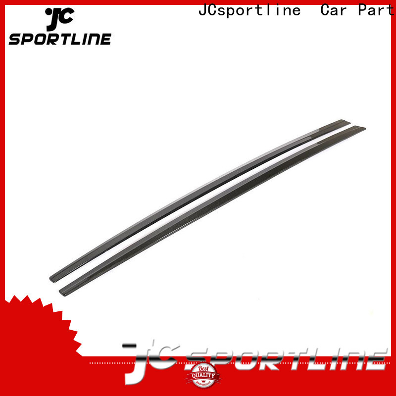 JCsportline automotive side skirts factory wholesale for trunk