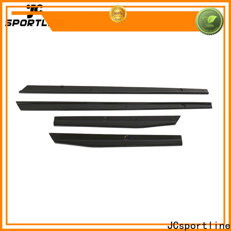 JCsportline automotive side skirts factory for trunk