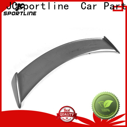 JCsportline carbon spoiler company for vehicle