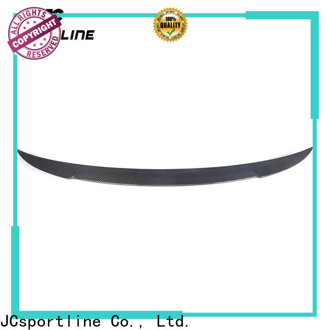 JCsportline carbon spoiler suppliers for hatchback