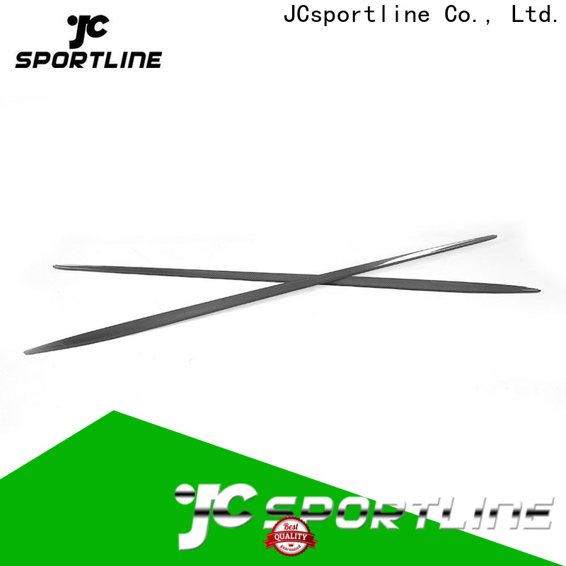 JCsportline custom side skirts company for trunk