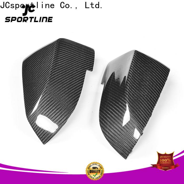 scirocco carbon fiber mirror caps factory for car