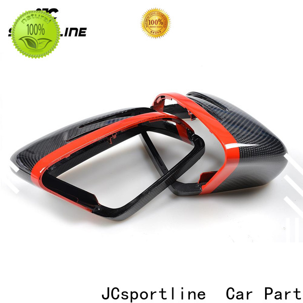JCsportline audi carbon fiber mirror covers for business for sale