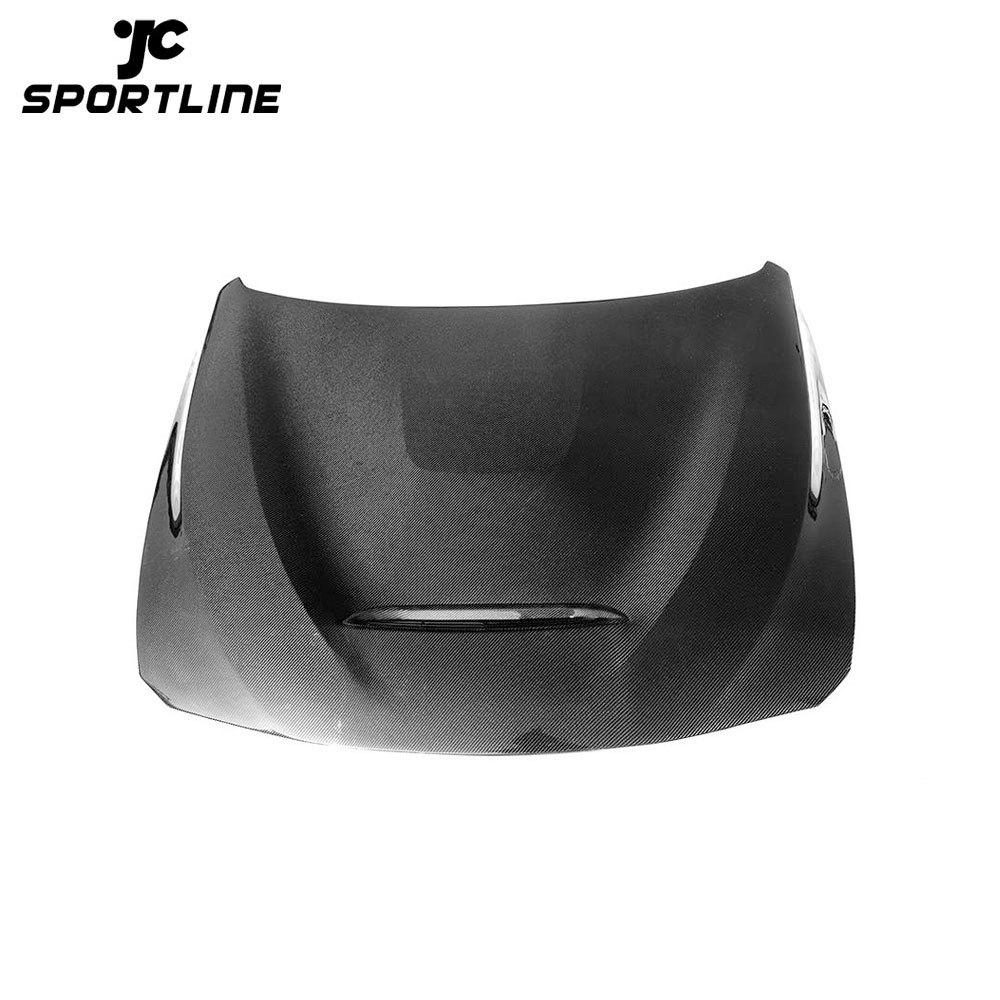 JC-HLY492 F30 F32 F82 F83 M4 Carbon Fiber Vents Hood Bonnet for BMW 4 Series 2014-2018