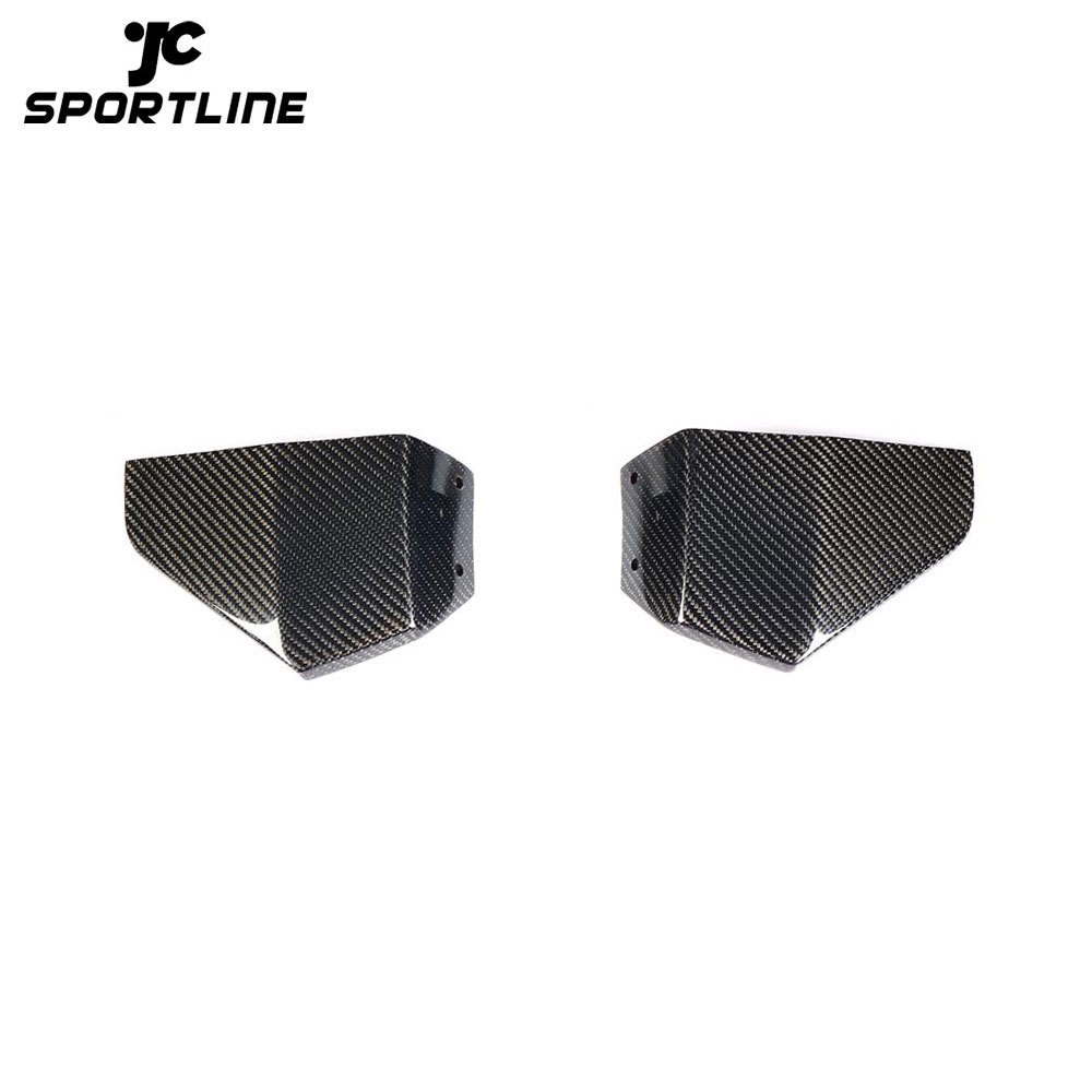 ML-ZDH060 Carbon Fiber X3 Front Winglet Splitters for BMW X3 G01 M40i Sport Utility 4-Door 2018 2019