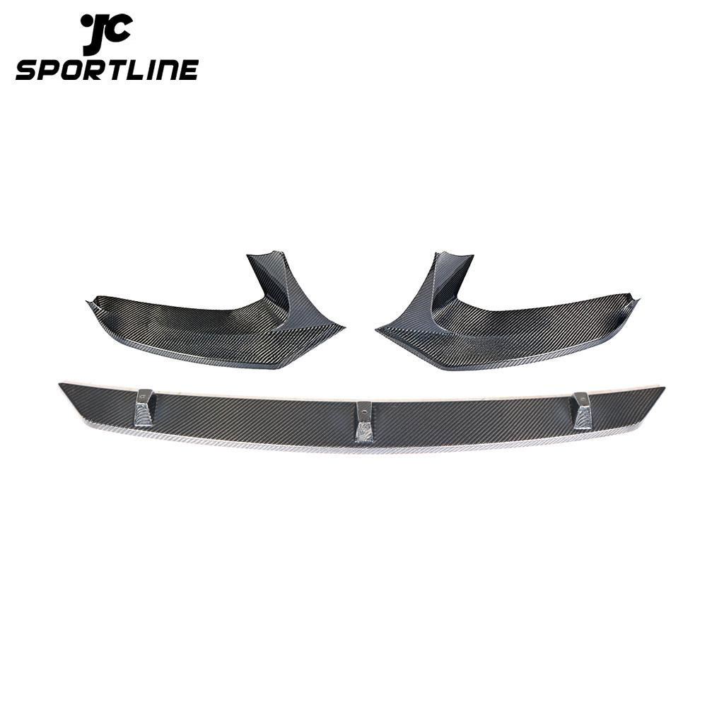 JC-ZYY177-CF Carbon Fibre G30 M TECH Bumper Front Lip Apron for BMW G31 G38 520i 530i 540i M Sport 2017- 2019