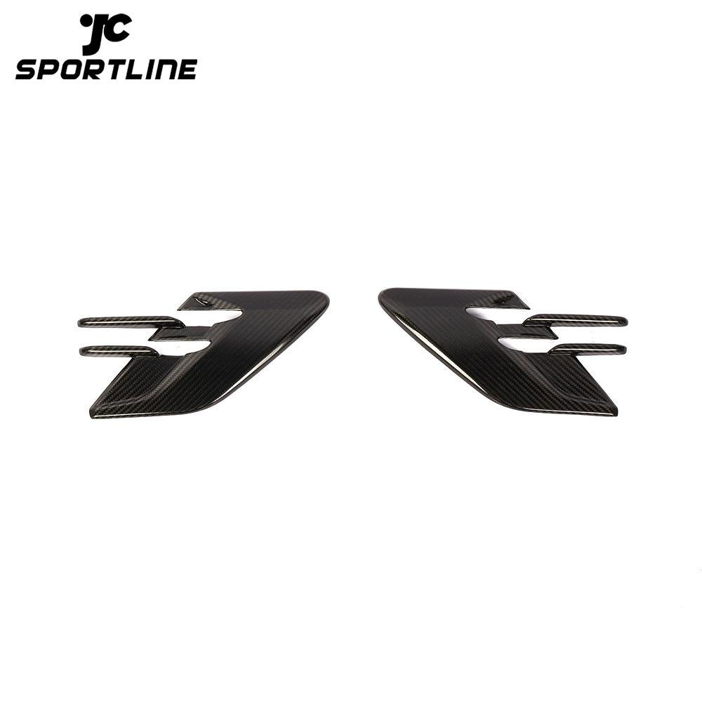 ML-ZDH043 Carbon Fiber RRS Front Fender Vents Covers for Land Rover Range Rover Sport 2018-2019