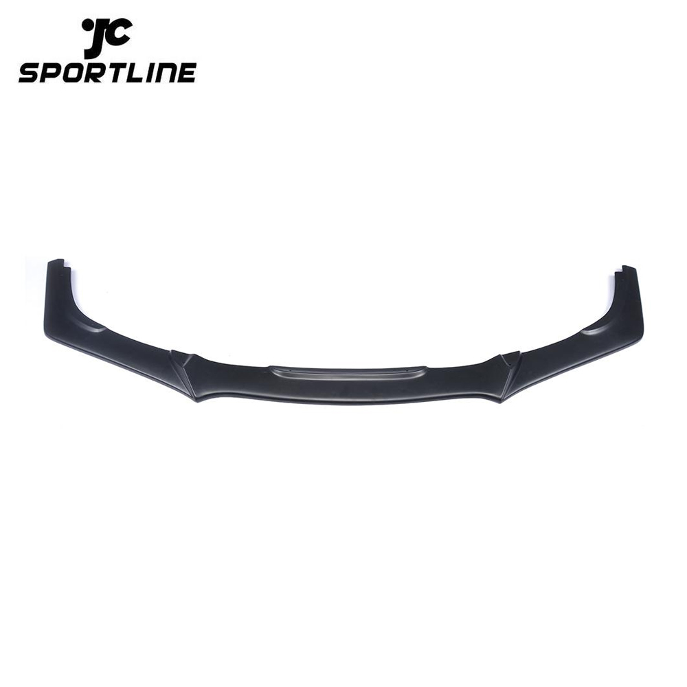 JC-HD115 PU Car Front Spoiler for Honda Civic 10th Matt Black Primming 16-17