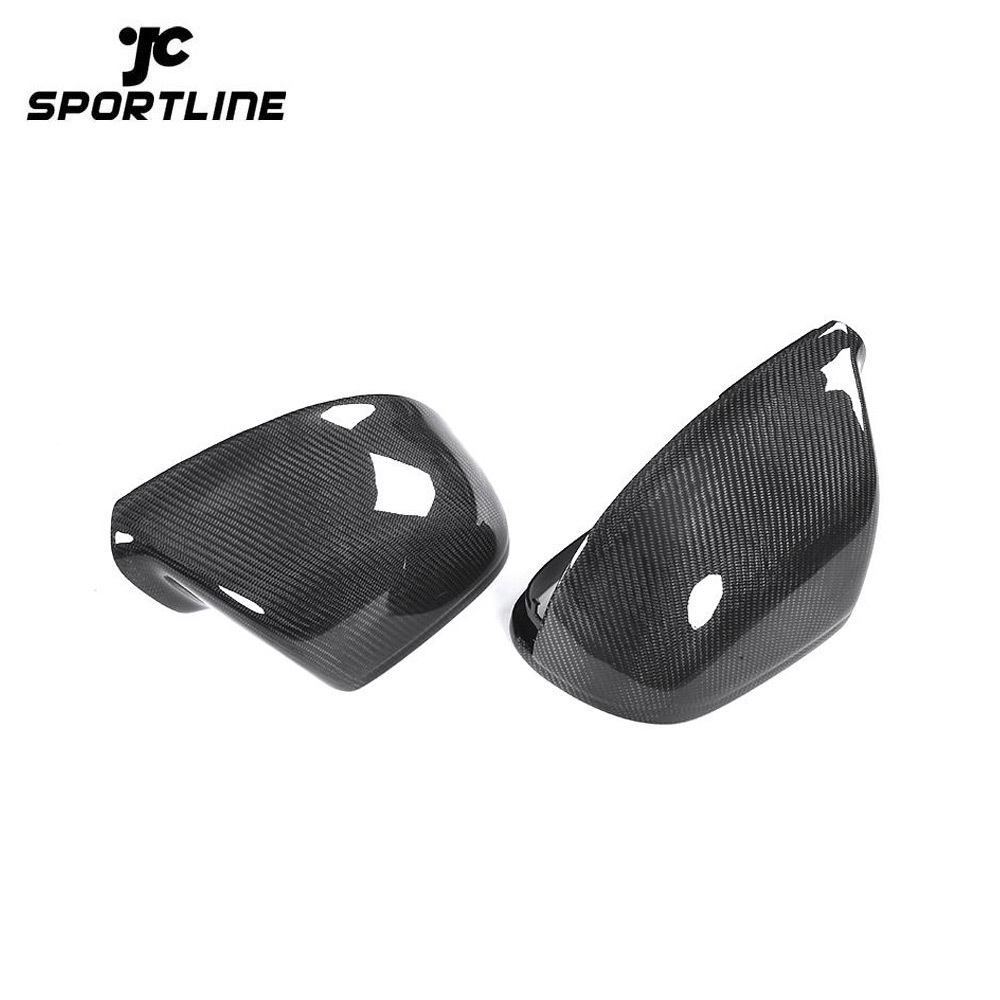 JC-XP1255  Carbon Fiber Direct Replacement Rearview Mirror Cover for Audi Q5 Q7 10-15