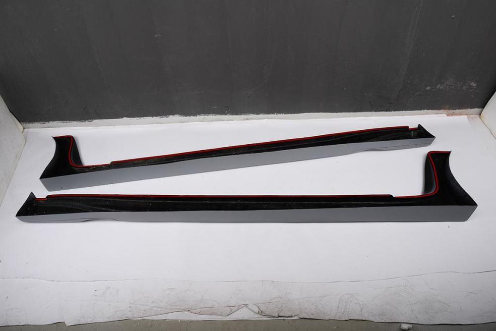 JC-HD065-3  FRP Fiberglass Q50 Side Skirts Body Kit for Infiniti Q50