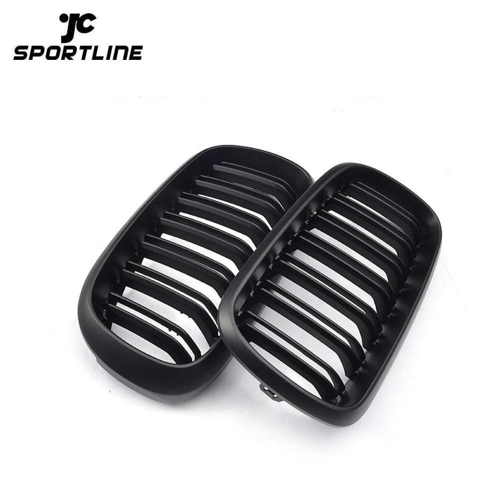 JC-XX31  ABS Front Grill Grille For BMW F15 X5 F16 X6 2014-2017