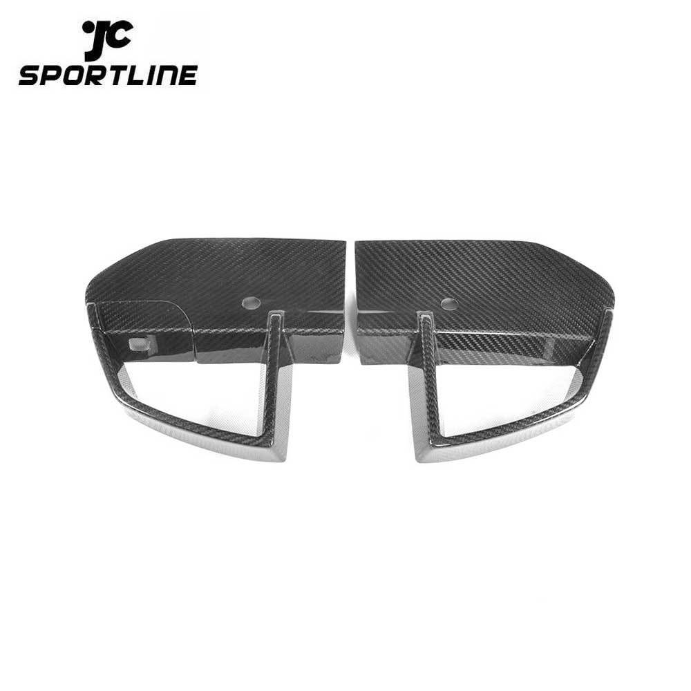 ML-ZDH061 Carbon Fiber X3 G01 Front Bumper Vents for BMW X3 M40i M Sport 2018 2019