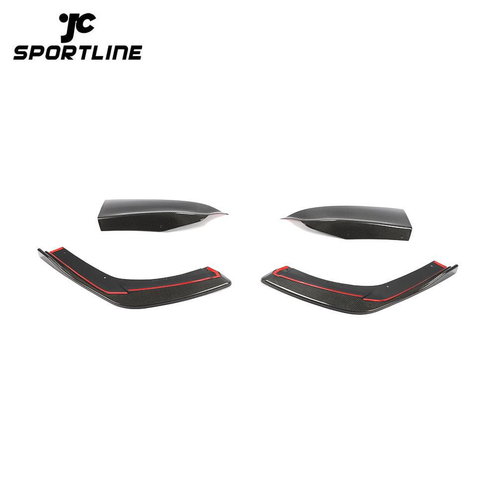 ML-ZDH057 Carbon Fiber Rear Bumper Splitter for Maserati Levante Sport Utility 4-Door 2016-2018