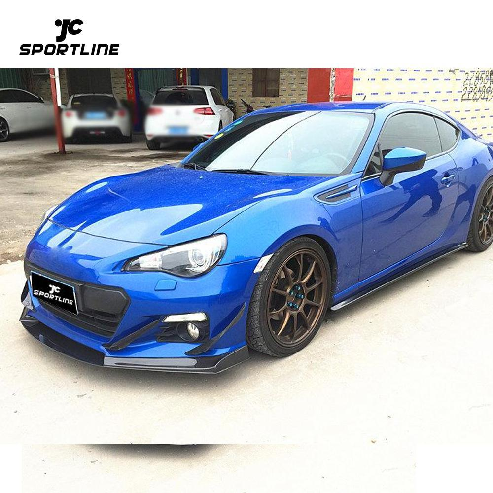 JC-WSM326  For Toyota carbon fiber GT86 2013-2015 Front Lip