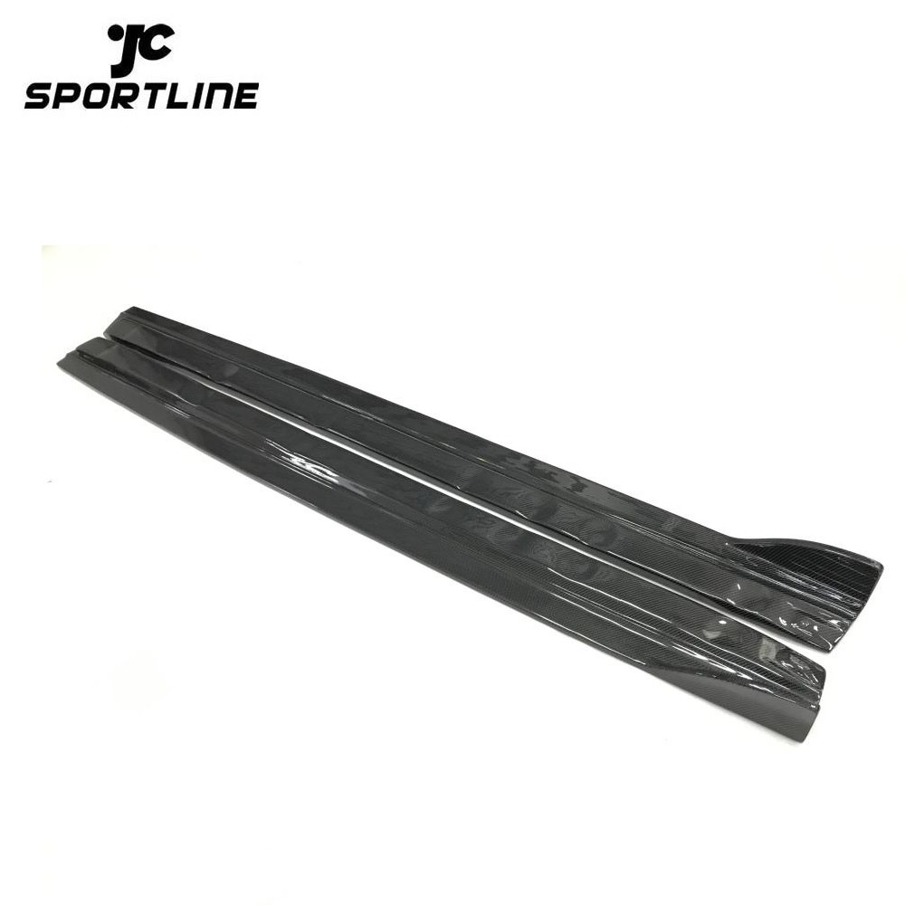 JC-WSM058  Carbon Fiber Side Skirts for Audi A3 Sedan 4-Door
