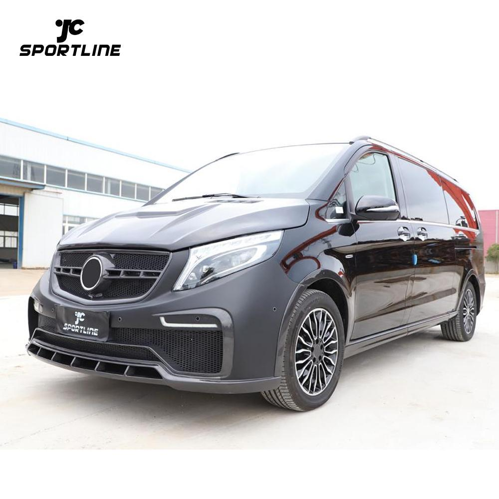 JC-HLY415-KB Carbon Fiber W447 Body Kits for Mercedes Benz V-Class w447 2015-2019