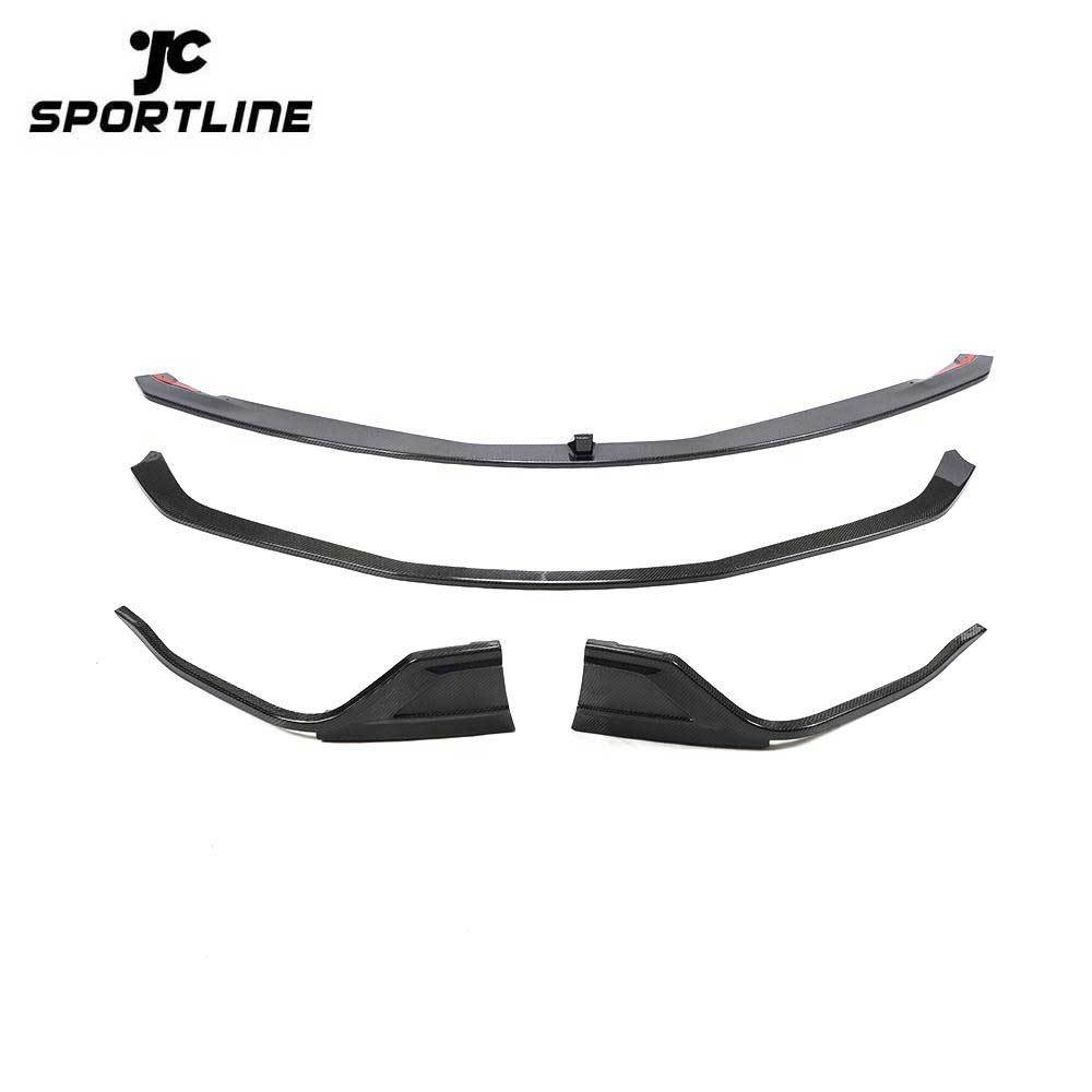 ML-ZDH133 Carbon Fiber A90 Front Spoiler Lip for Toyota Supra A90 Edition J29/DB MkV 2019 2020