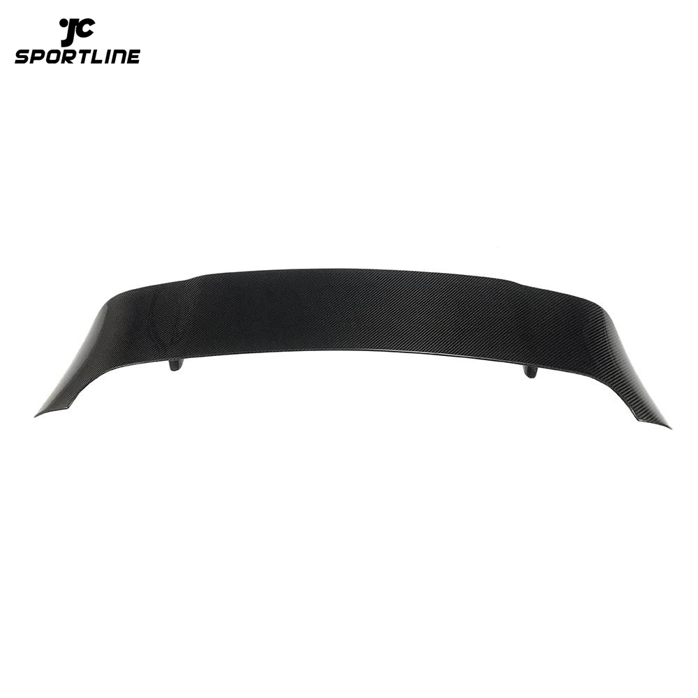 JC-WSM124 Carbon Fiber Rear Roof Wing Spoiler for Porsche Macan Sport Utility 4-Door 2014-2020