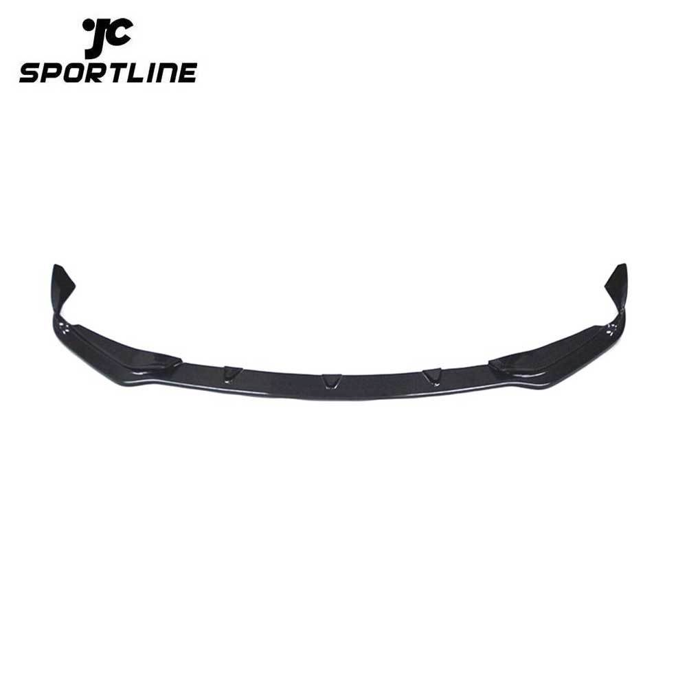 JC-WSM382 Carbon Fiber Front Bumper Lip Spoiler For Infiniti Q50 Base Sedan 2014-2017