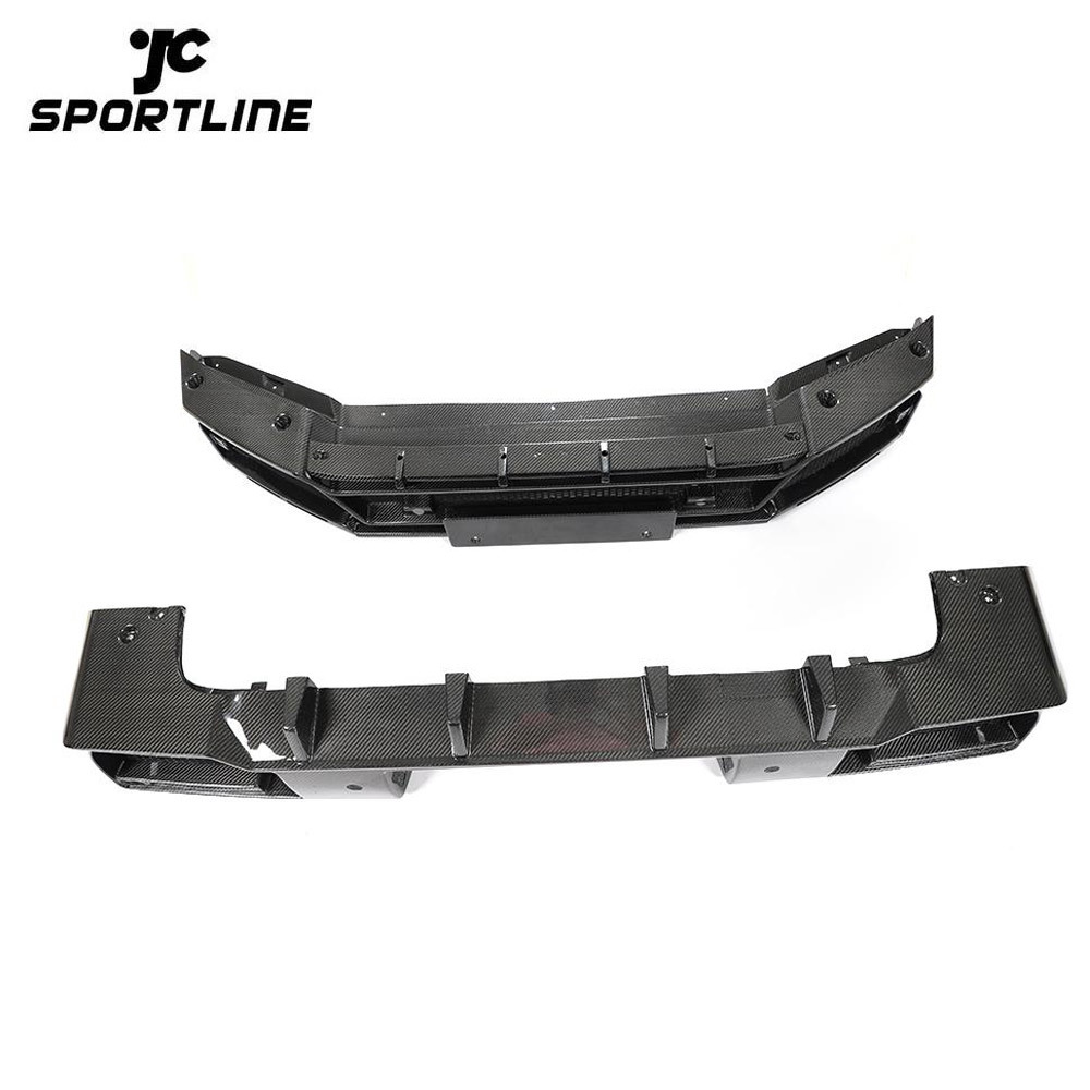 ML-YBX105 For Benz G-class 2020 Carbon Fiber Front Bumper Lip Rear Bumper Diffuser Body Kit