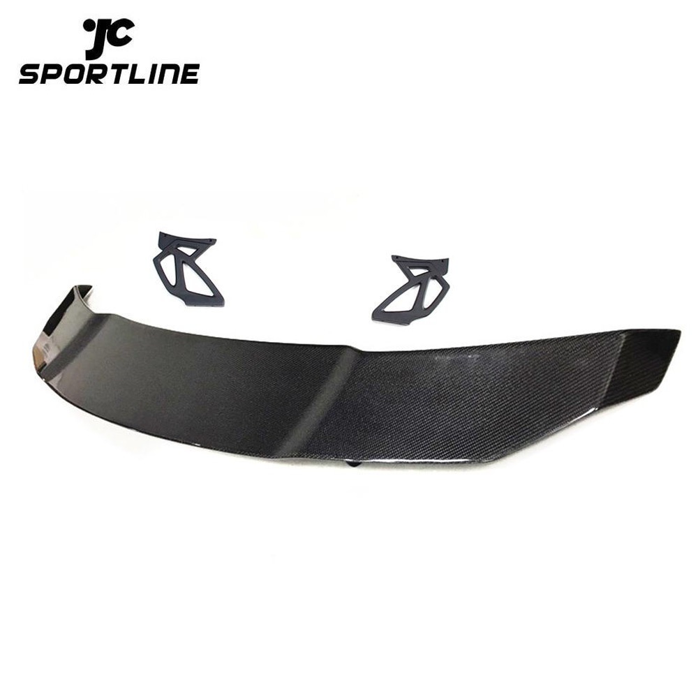 JC-WSM355  Universal Car Auto Carbon Fiber Rear Trunk Spoiler Boot Wing Lip for BMW F22 E90 E92 E93 F30 F80 F82 M2 M3 M4 M5 M6