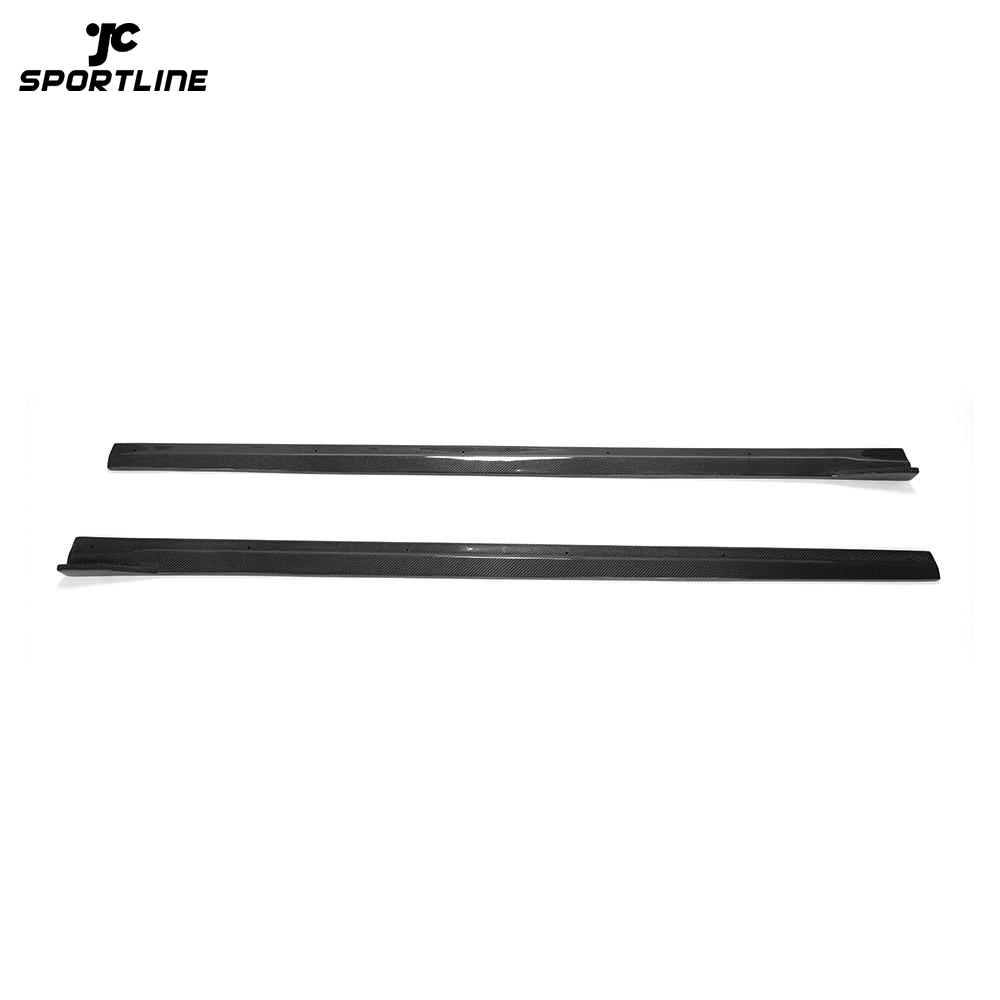 JC-WSM095 Carbon Fiber F87 M2C Side Skirts Winglet for BMW M2 Competition F87 M2 Coupe 2016-2020
