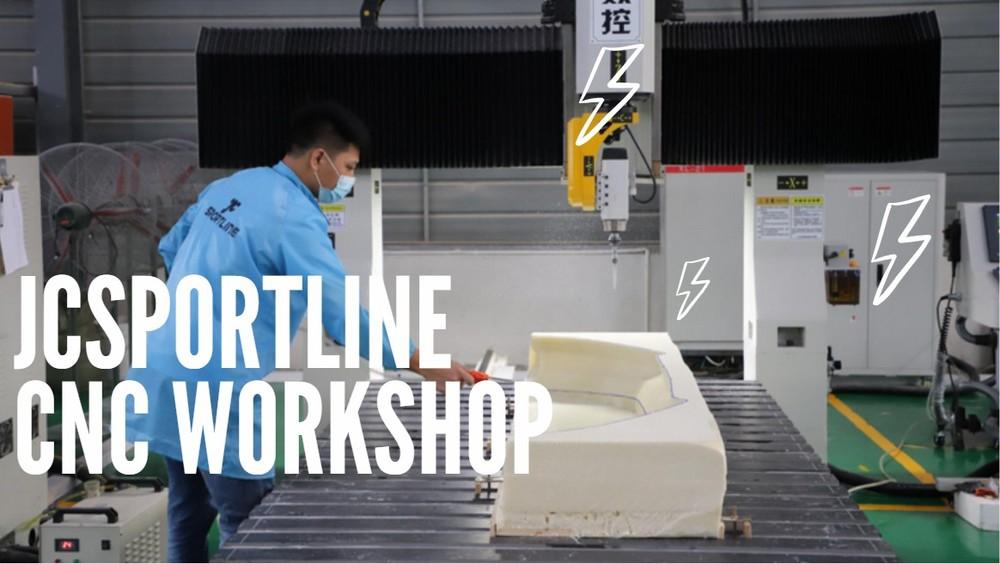 Visit the JCsportline Whole Picture of CNC Workshop