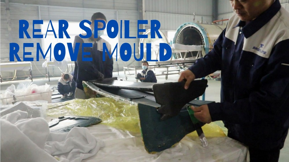 How to remove Rear Spoiler mold after autoclave