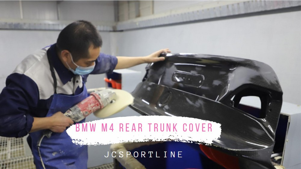 How to make Carbon Fiber BMW M4 Rear Trunk Cover