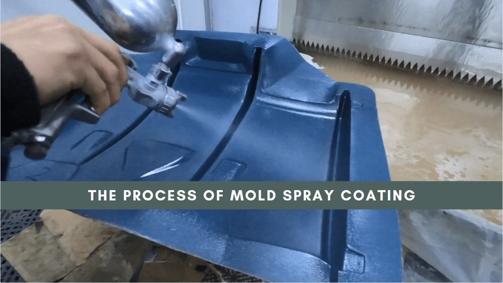 The most important step in making carbon fiber auto parts——mold spray coating