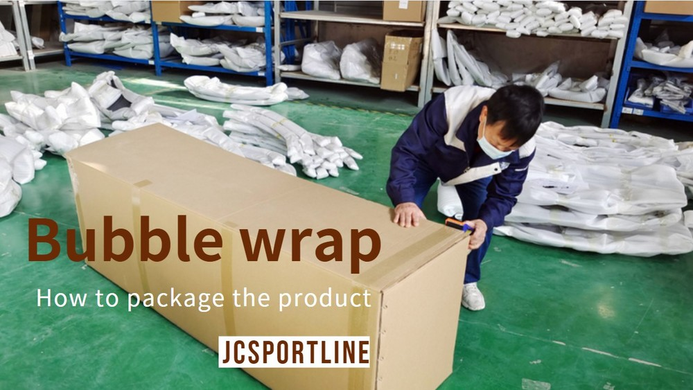 How to use bubble film packaging products