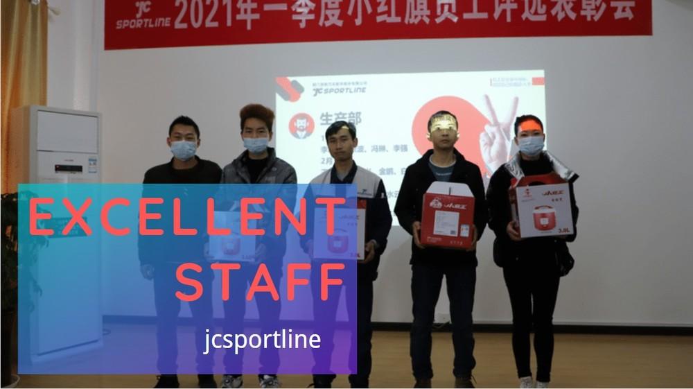 Jcsportline outstanding staff appraisal