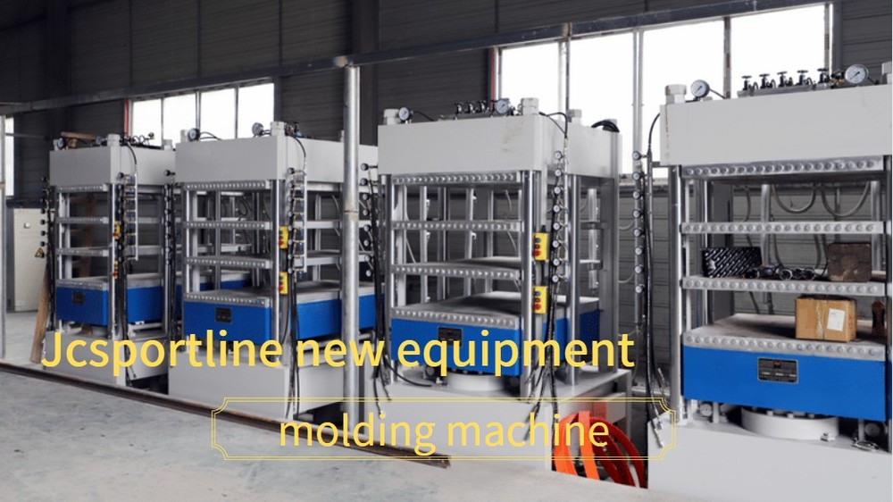 Jcsportline invested heavily in the introduction of new equipment - molding machine