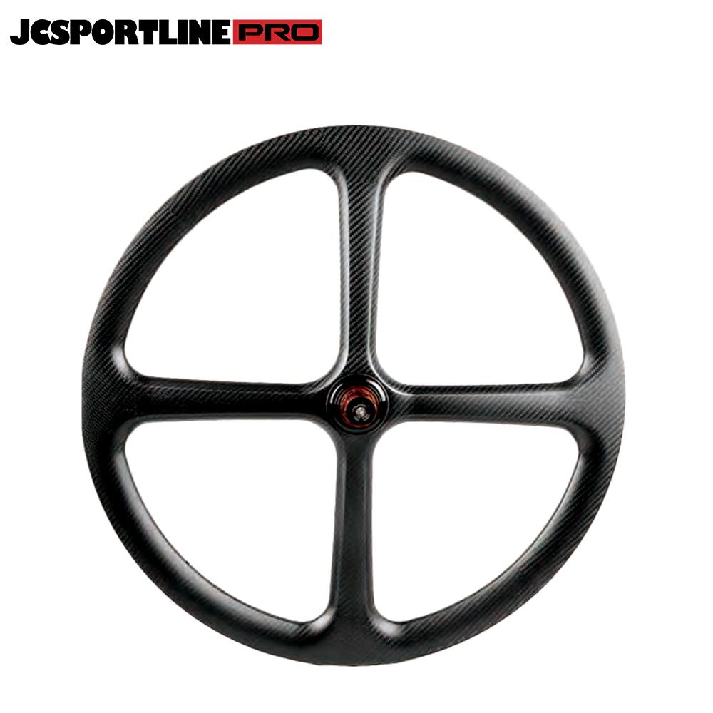 JC-DW4-TR  Carbon 27.5 Mountain Bike Wheel 4 Spoke Rim Bicycle Wheel Clincher Type 40mm Depth 30mm Width Track Bike tubeless ready Rim