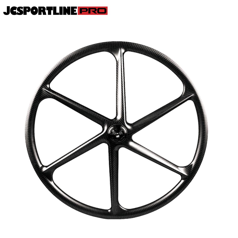 JC-DW6-TR  Carbon 29 Mountain Bike Wheel 6 Spoke Rim Bicycle Wheel Clincher Type 30mm Depth 30mm Width Track Bike tubeless ready Rim