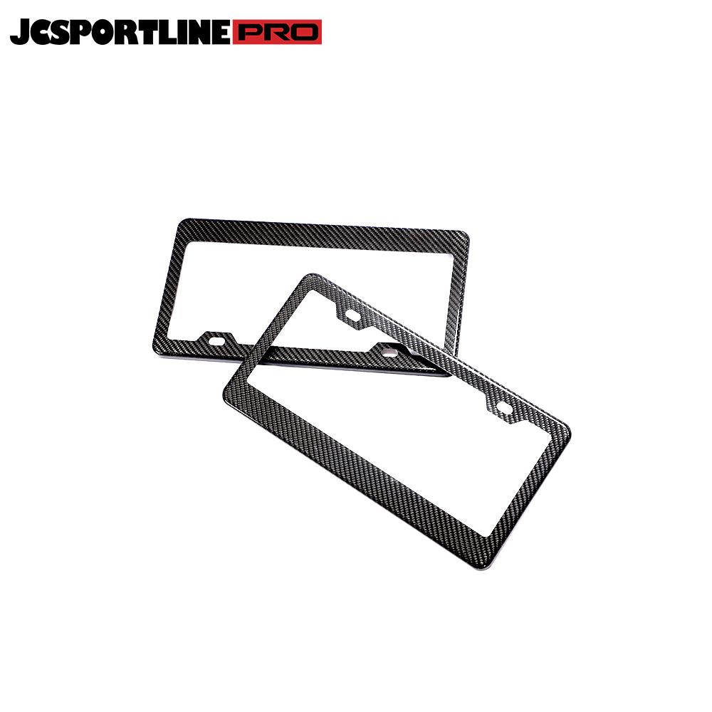 JC-CPJ001  Carbon Fiber License Plate Frame