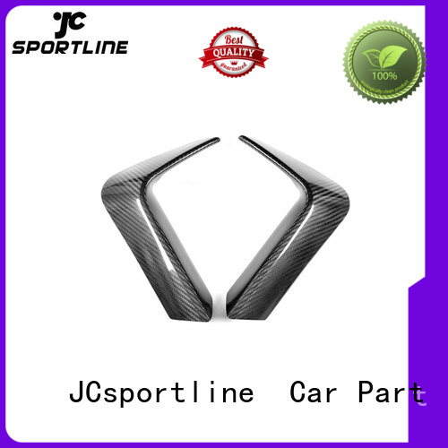 JCsportline carbon splitter extension guard for carstyling